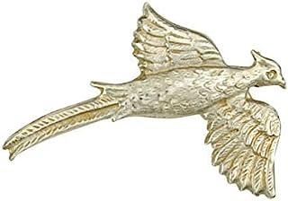 J R Jewellery Plata Maciza Pájaro Broche Hecho a Mano A Orden Británico Contraste en Caja