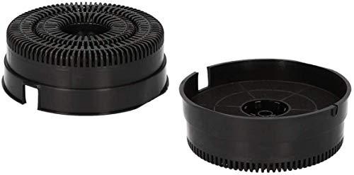 DREHFLEX AK111-2, 2 filtros de carbón activo, Whirlpool 48400008782, Elica Respekta CFC0038000, NYTTIG FIL220