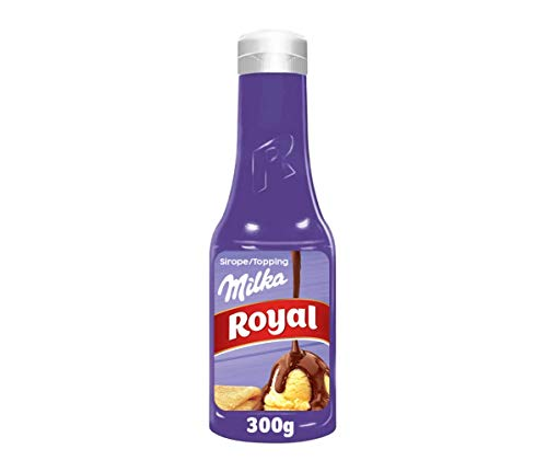 Royal Sirope Milka de Chocolate con Leche, 300g