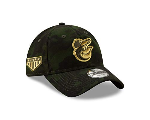 New Era Baltimore Orioles 2019 MLB Armed Forces Day 9TWENTY Adjustable Hat - Camo