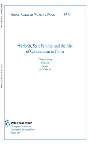 Warlords, State Failures, and the Rise of Communism in China (English Edition)