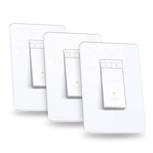 TP-Link HS220P3 Kasa Smart WiFi Dimmer Light Switch (3-Pack) $49.99