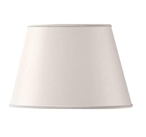 Lampenschirm, oval, Ø 40 x 27/25 x 18/26,5 cm