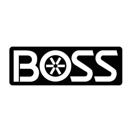 """Power-V /""""XT/"""" Front of Blade Decal Sticker Boss Part # MSC10190"""