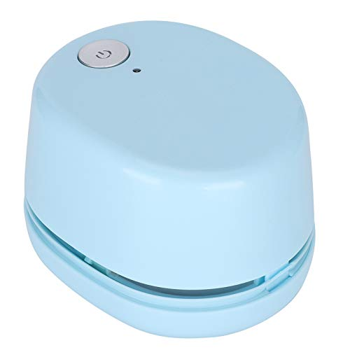 Limpiador de mesa de aspecto elegante, pequeño, eléctrico, portátil, compacto y de carga rápida para sofás de escritorio
