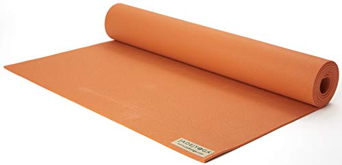 JadeYoga - Tappetino per Yoga Harmony, 368TO, Tibetan Orange, 68 Inches