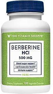 Berberine HCl – Supports Cardiovascular Immune Health 500 MG (120 Vegetarian Capsules)