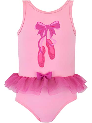 Harry Bear Bañador Niña Bailarina Rosa 5-6 Años
