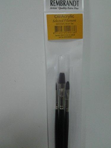 Set Pinceles Rembrant serie 291/2 292/8 290/12 (3 unidades)