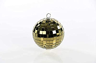 Disco Ball/Mirror Balls in Silver, Black and Gold 5 to 75 cm 10cm Gold