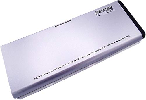 Il golem-power A1280Batteria 10.8V 45Wh 4167mAh A1278di ricambio per MacBook 13(Fine 2008Version) Li-Polymer 13Zoll aluminium-unibody MB466CH/A MB466J/A
