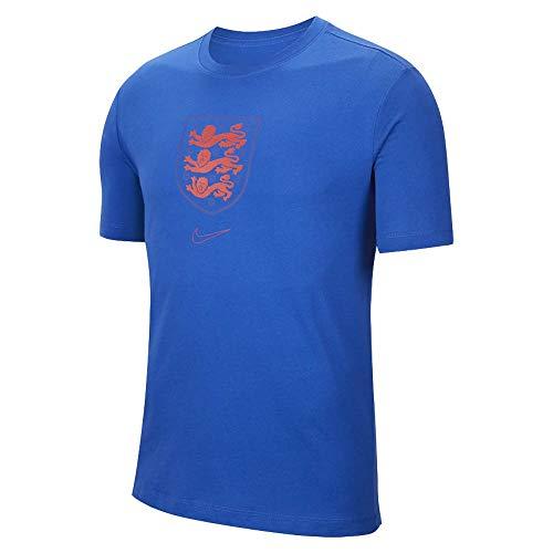 Nike 2020-2021 Inglaterra Evergreen Crest Tee (Sport Royal)