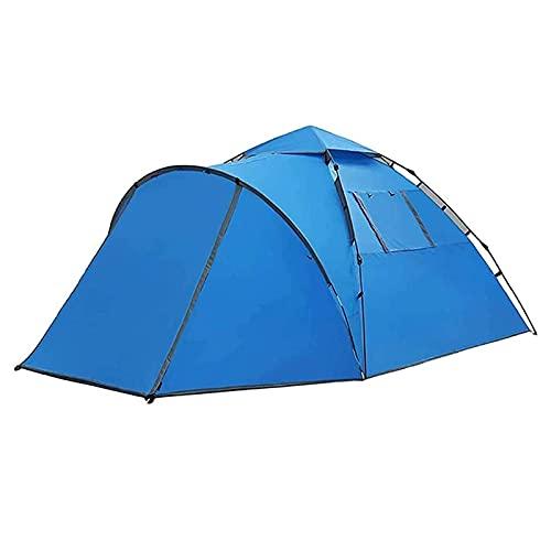 LLKK Tienda de campaña ultraligera al aire libre, tienda de campaña ligera, fácil de configurar, adecuado para exteriores, senderismo y viajes de montaña