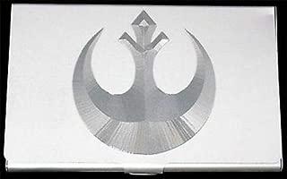 REBEL ALLIANCE Star Wars Engraved Business Credit Card Case Holder Gift BUS-0258