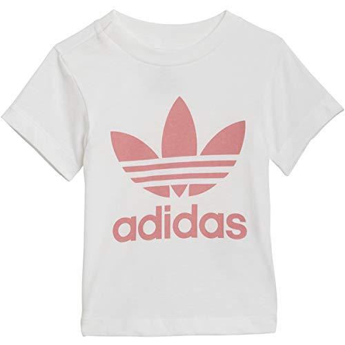 Adidas Originals - Camiseta para bebé - Blanco - 12 meses