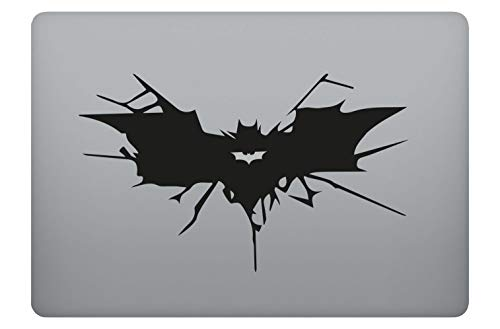 Batman Icon Decal Skin Decal Vinyl Sticker Adecuado para portátiles Apple MacBook Air Pro Portátiles, portátiles, Superficies Lisas (13')