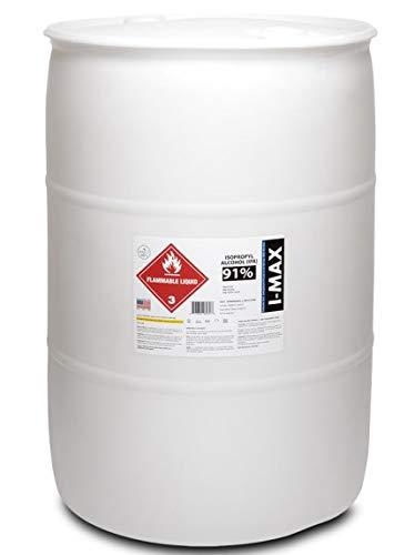 Isopropyl Alcohol - IPA 91% (55 Gallon Drum) High Purity IPA - Made in USA