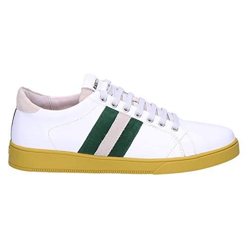 Blackstone Herren TG30 Sneaker, White Greener Pastures, 44 EU