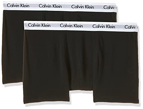 Calvin Klein Modern Trunk Bóxer, Negro (Black/Black 001), 14-16 años para Niños