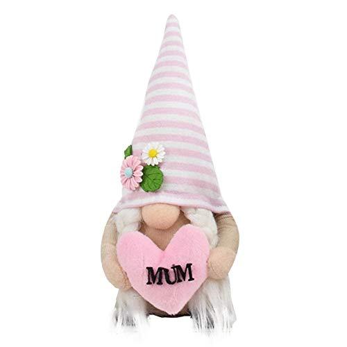 Muttertag Gesichtslose Puppe Deko, Oster Dekorationen Schlafzimmer Geschenke afür Geburtstag Hochzeit Jubiläumsfest zum Wohnzimmer Home Dekorationen (1PC-B)