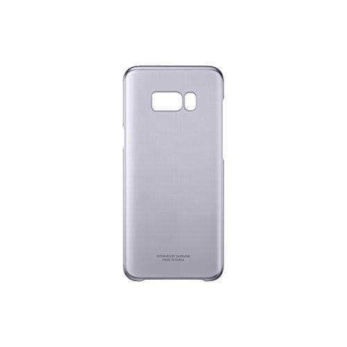 Samsung EF-QG950CVEGWW Clear Hülle (geeignet für Samsung S8), Violett