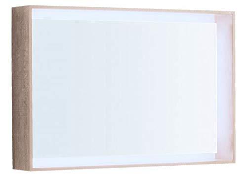 Keramag Geberit Citterio Lichtspiegel 500572JI1, 88,4x58,4x14cm, Holzstruktur Eiche beige - 500.572.JI.1