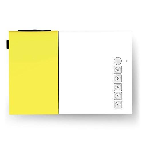 BXCGDICD Pocket Projector - LED Mini Projector Compatibel met Smartphones, PC, Laptop voor groot scherm bekijken, HDMI, USB, TF-kaart - Beste Gadget, Voor kinderen