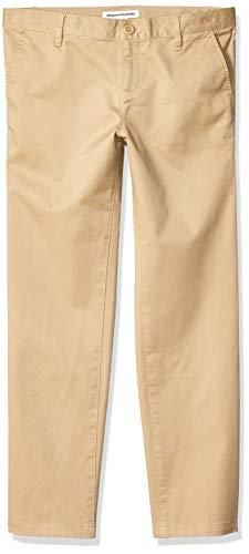 Amazon Essentials Plus Uniform Chino Pants, Caqui, 16(P)