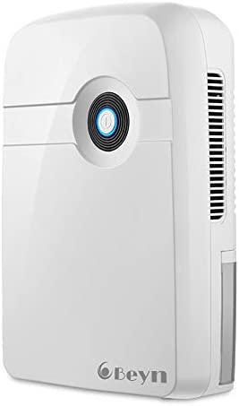 Beyn Mini Dehumidifier With Drain Hose 3200 Cubic Feet 320 sq ft with Auto Shut Off Compact product image
