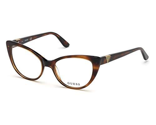 Guess Gafas anteojos GU2708 053 habana marco de plástico del tamaño de 51 mm de gafas de sol de las mujeres