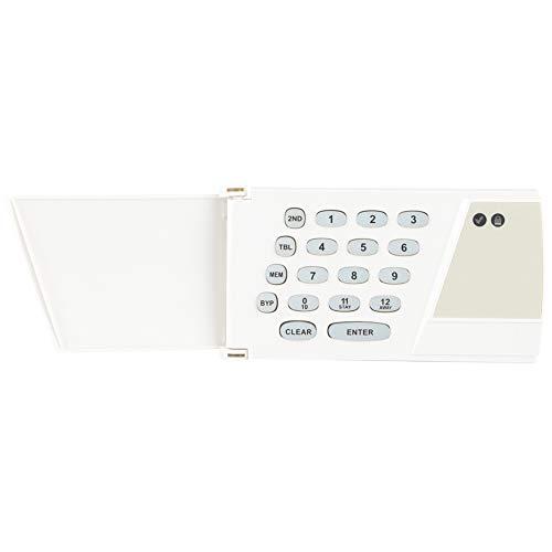 Gugxiom Teclado De Control De Host, Kit De De Alarma Duradero Resistente Al Desgaste Seguridad para El Hogar Material De PC Host De Alarma Antirrobo