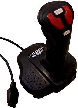 Sega Genesis GENISTICK Flight Stick Controller