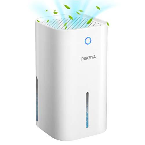 IMIKEYA Luftentfeuchter Elektrisch, 900ML Mini Entfeuchter Raumentfeuchter automatischer entfeuchter leise Dehumidifier für Haus, Schlafzimmer, Bad, Schrank, Büro