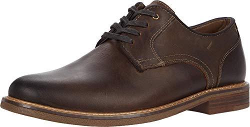 Dockers Mens Martin Leather Dress Casual Oxford Shoe, Dark Brown, 9.5 M