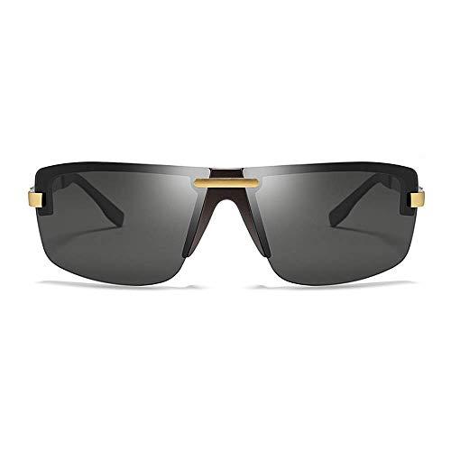 Gafas de sol polarizadas Gafas de sol polarizadas gafas de sol deportivas for hombres y mujeres de conducción de pesca ciclismo y carrera UV Protection (Color: Oro, Tamaño: Libre) Artículos deportivos