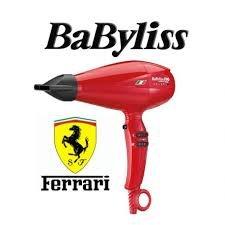 Babyliss Secadora Ferrari Volare V1 Roja (solo la secadora)
