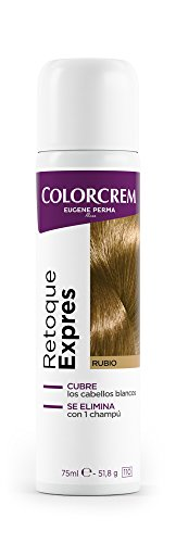 COLORCREM tinte rubio retoca raíces expres spray 75 ml