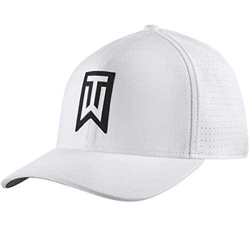Nike TW AeroBill Classic 99 Performance Golf Cap 2019 White/Anthracite/White Small/Medium