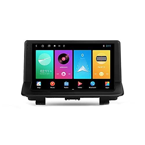 2 DIN Android Car Radio, Auto Radio Car Bluetooth Pantalla táctil de 9 Pulgadas 5G WiFi Plug and Play Soporte Completo RCA Carautoplay/GPS/Dab + / OBDII para Audi Q3 1 8U 2011-2018