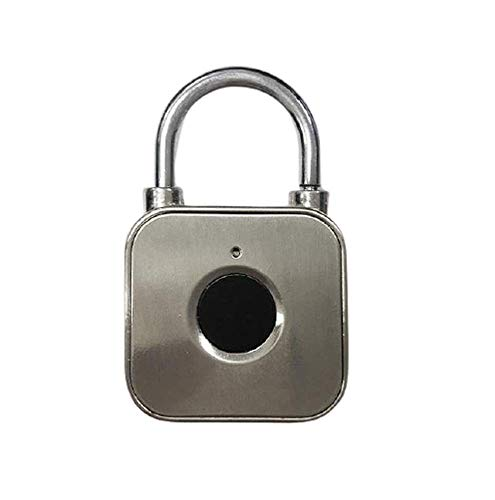 Fingerprint Padlock Zinc Alloy Luggage Cabinet Locker Electronic Ligent Anti Theft Lock Fingerprint Lock