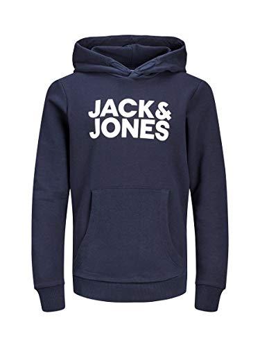 JACK & JONES Herren Hoodie Boys 140Navy Blazer 2