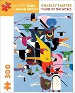 Charley Harper - Wings of World: 300 Piece Puzzle (Pomegranate Kids Jigsaw Puzzle)