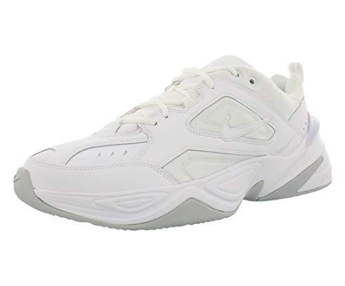 Nike M2K Tekno, Zapatillas de Gimnasia para Hombre, Blanco (White/White/Pure Platinum 101), 45 EU