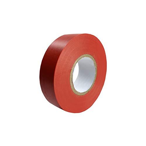 Isolierband Rot Klebeband, wasserdicht, feuchtigkeitsbeständig, nicht leitend, UV-beständig, 1 rolle 15 mm x 20 m, stark klebendes