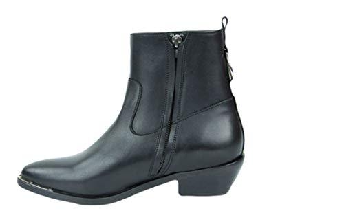 Catarina Martins Abbey Leather Boot W/Black Noir Noir 39 EU