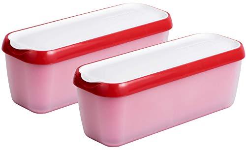 Long Scoop Ice Cream Freezer Storage Containers