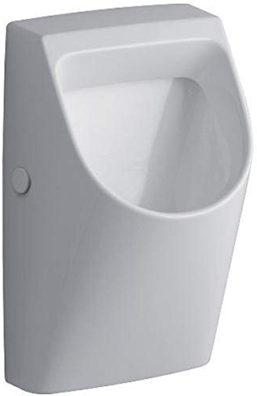 Keramag Renova Nr.1 Plan Urinal Zulauf und Abgang hinten wei