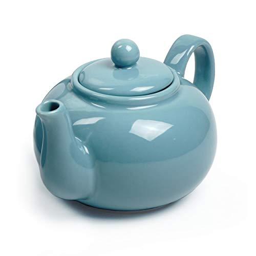 RSVP Chai 16ounce Teapot Turquoise