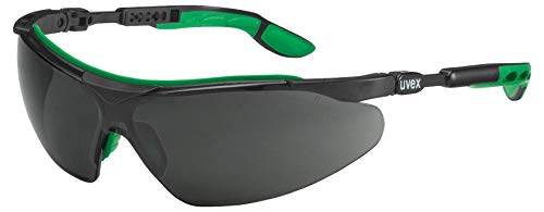 Uvex i-Vo Laser-Retail veiligheidsbril - Infradur - getint/zwart-groen