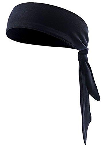 BXT Outdoor Sport Schweißband, Anti-Rutsch Tennis Elastisches Stirnband Headband, Erwachsene Multifunktionstuch Bandana für Yoga Basketball REIT Laufen Running Fitness Crossfit Gym, Schnell Trocken
